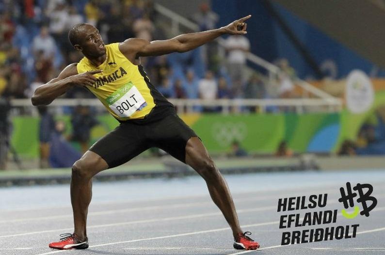 Leitað að Usain Bolt í Breiðholti graphic