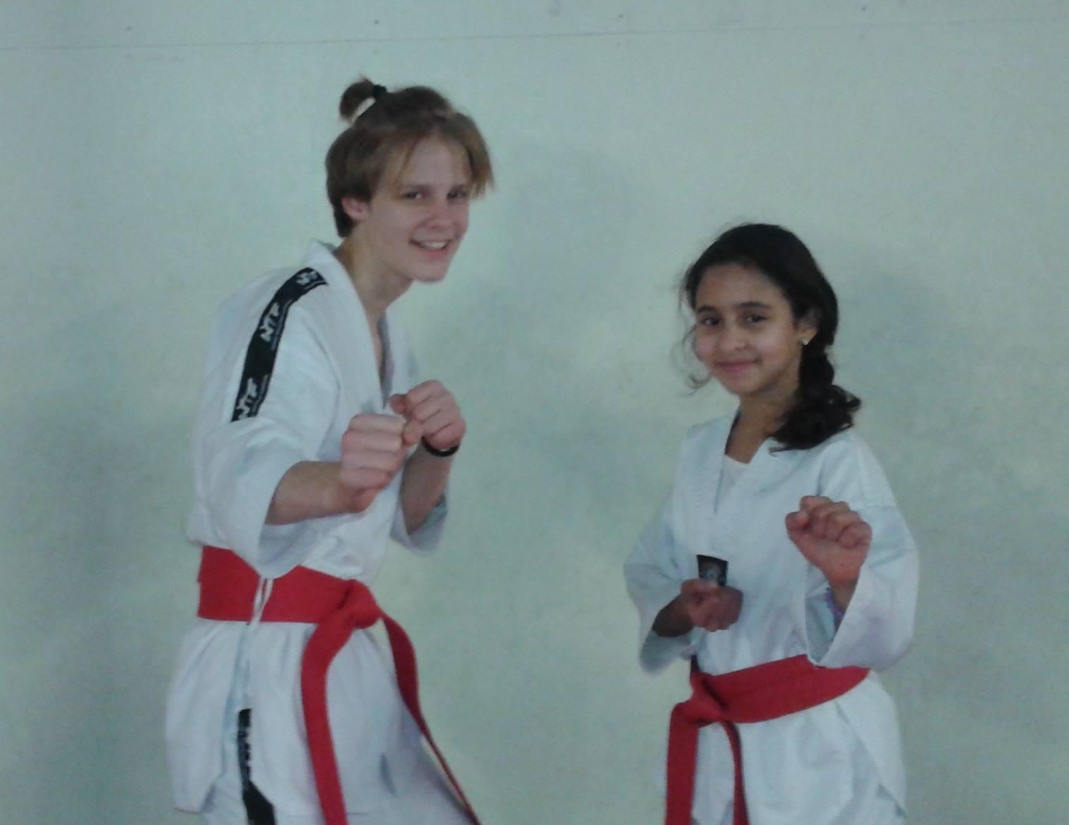 Taekwondo maður og kona ÍR 2016 graphic