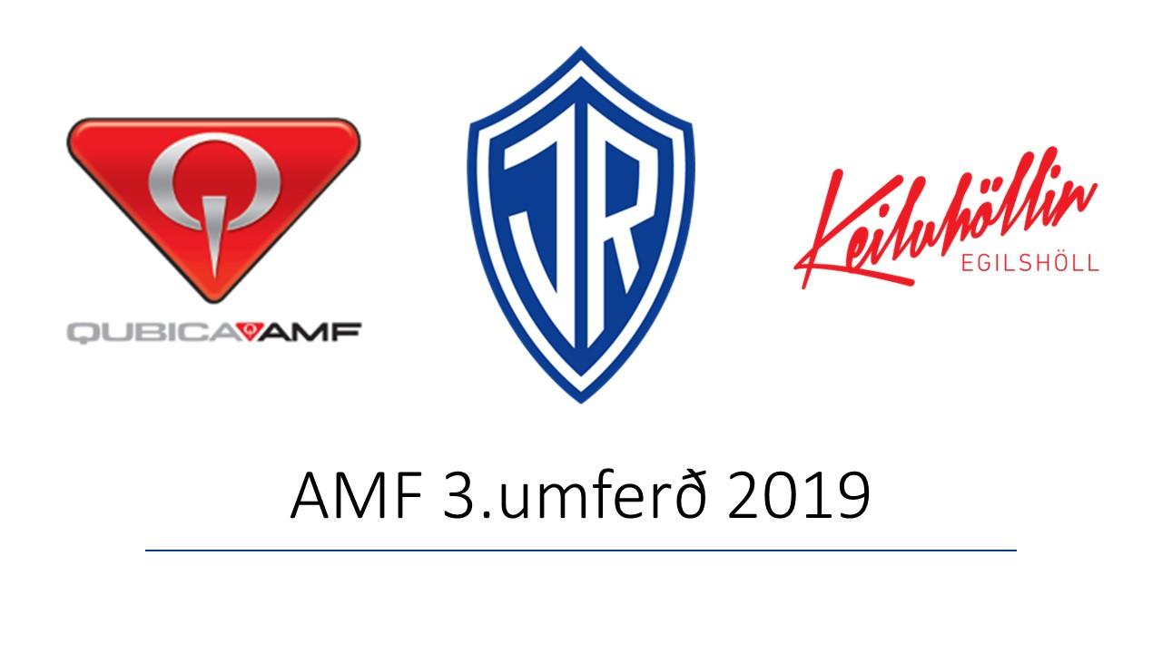 AMF 3.umferð 2019 graphic