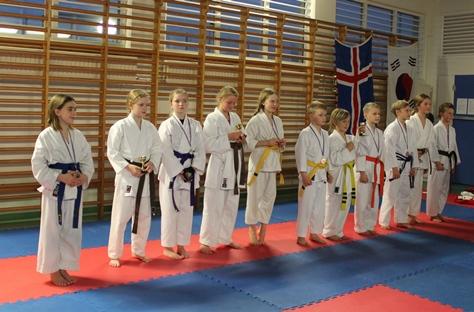 Opna kumitemót karatedeildar ÍR graphic