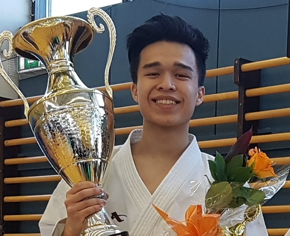 Aron Anh Ky Huynh karatekarl ársins 2017 graphic