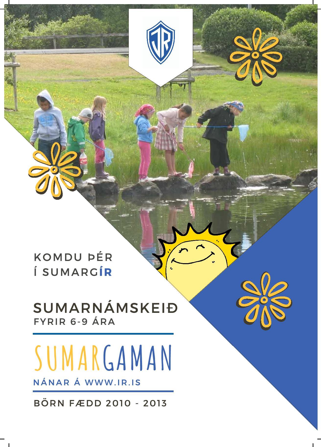 Komdu þér í sumargír: Sumargaman ÍR 2019 graphic