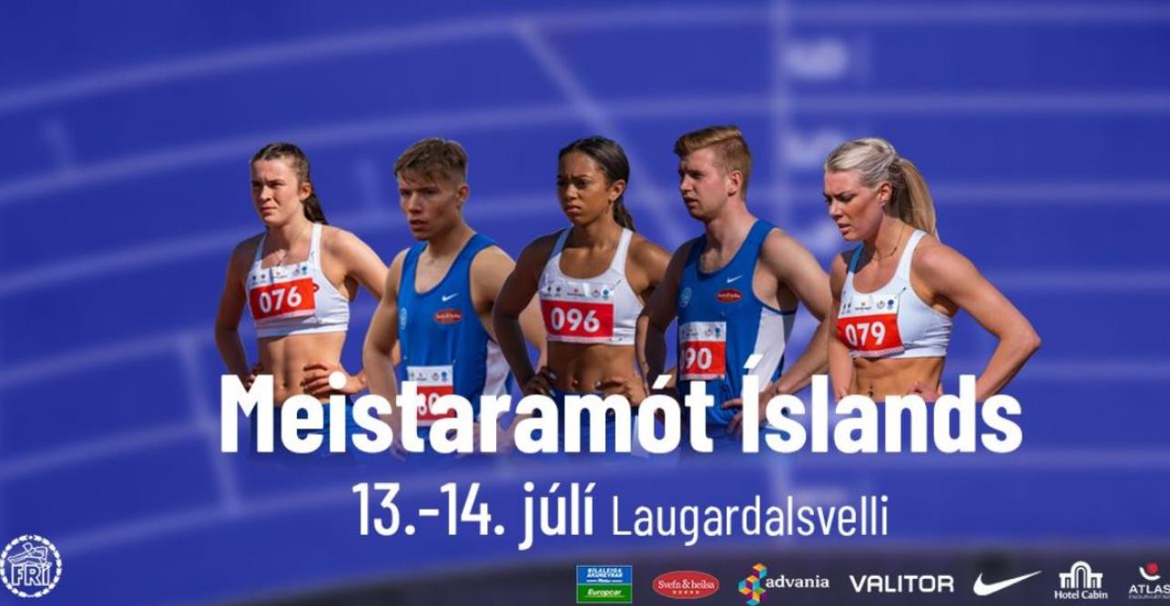 ÍR leiðir heildarstigakeppnina eftir fyrri dag MÍ graphic