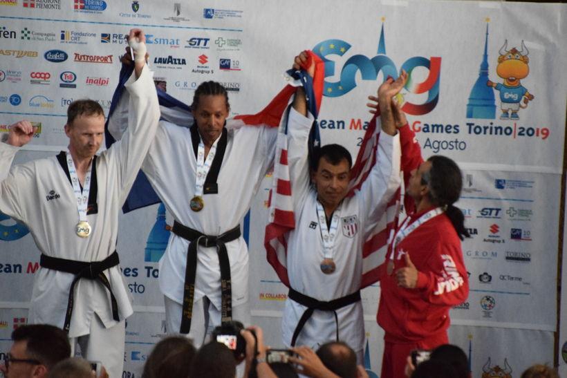 Arnar með silfur á European Masters í Taekwondo graphic