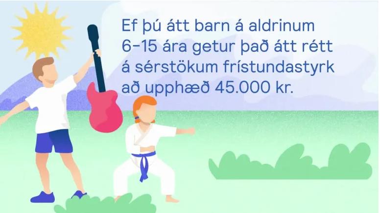 Frestur umsókna um íþrótta- og tómstundastyrk lengdur til 15. apríl 2021 graphic